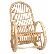Кресло-качалка Белая ива (мед)