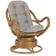 Кресло-качалка Moravia с подушкой (JC-3074)