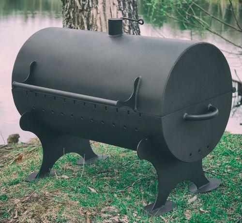 Мангал-коптильня МК-9 топка 400х710 мм