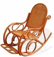 Кресло-качалка 05-10B из ротанга
