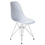 Стул Eames Chrome LMZL-PP623A, цвет: белый