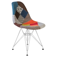 Стул Eames Chrome LMZL-PP623A, цвет: мозаика