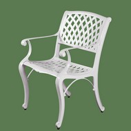 Садовое кресло New Mesh Chair белый (металл)